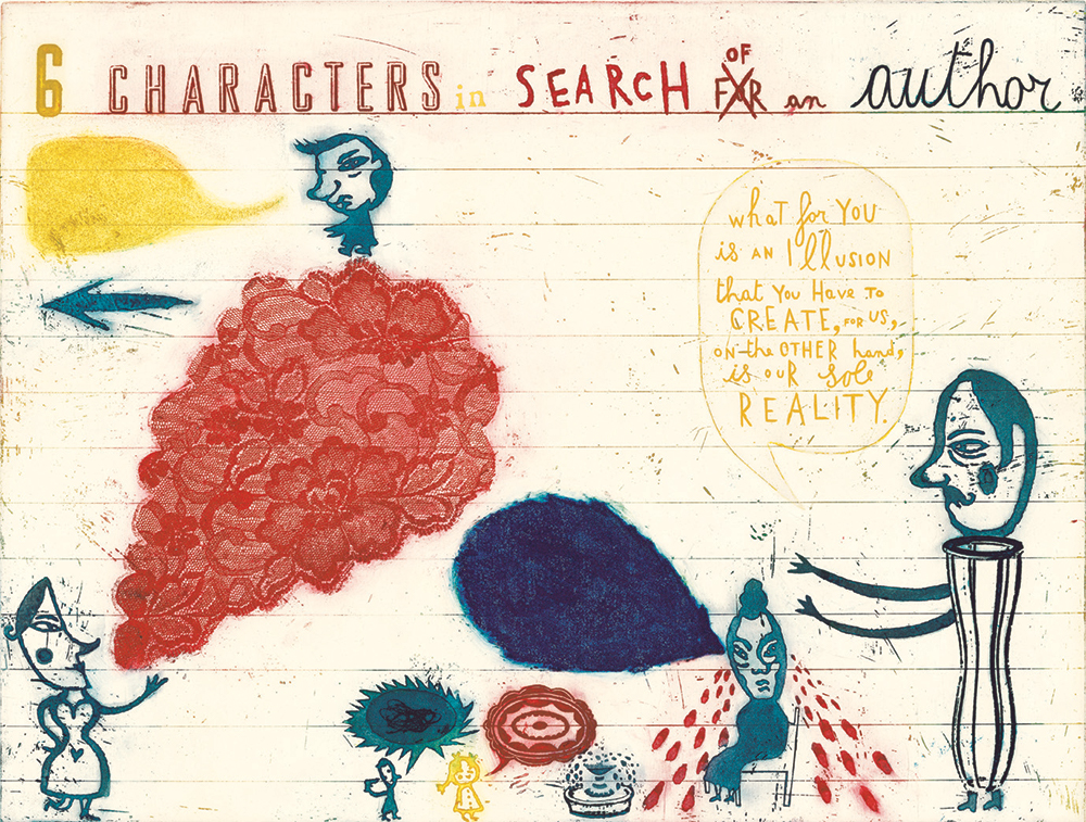 6 Characters in Search of an Author from 'Sometimes I Think, Sometimes I Am' Tate Publishing) 2007