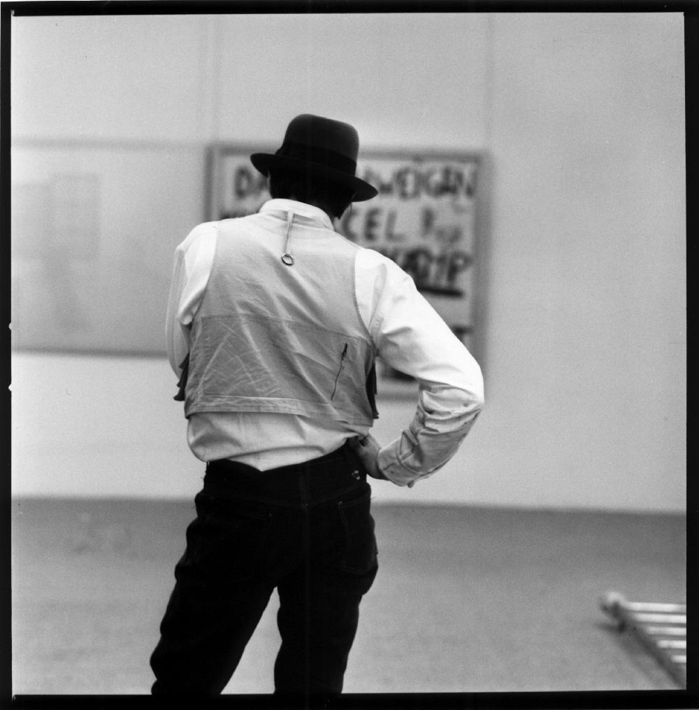 Joseph Beuys (Unterwasserbuch, Moderna Museet Stockholm, 1971) Lothar Woll