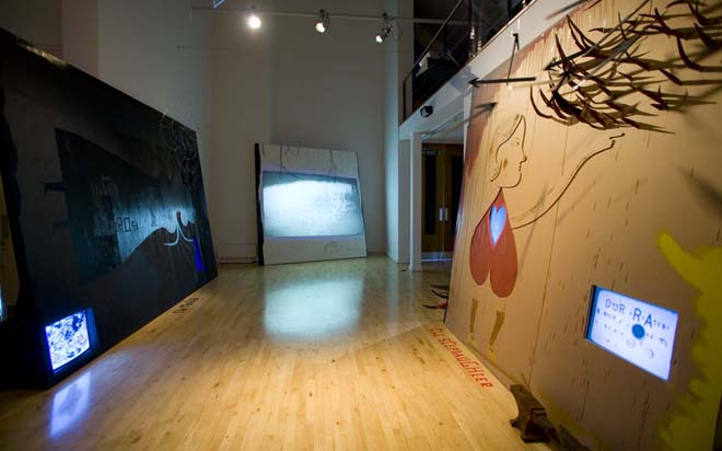 The Son (installation view) 2009