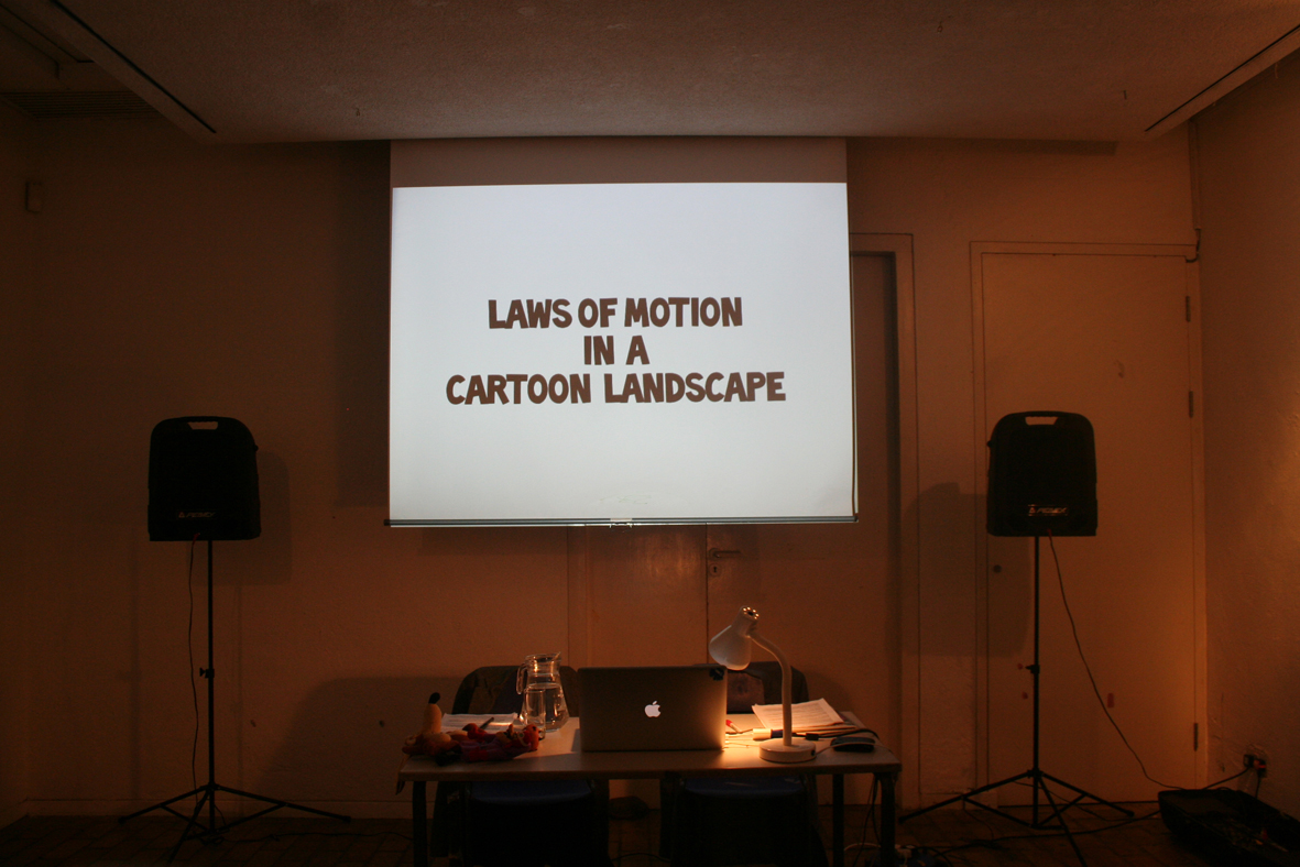 Andy Holden & Tyler Woolcott: Laws of Motion in a Cartoon Landscape