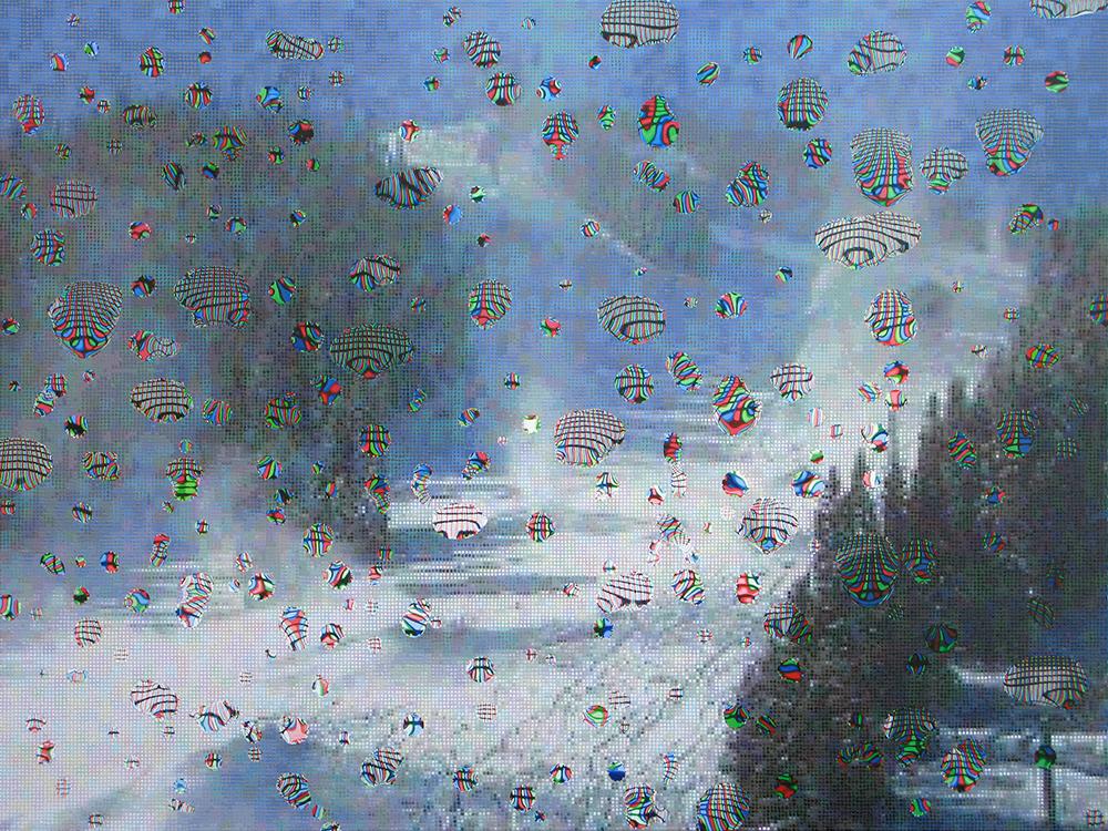 Colorado Snow Effect 9 (detail) 2009