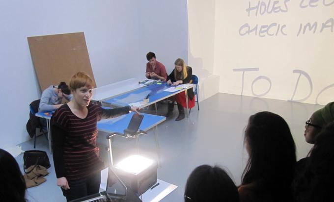 Stanley Picker Gallery, Emma Hart Schools Workshop