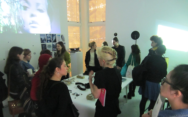 Boudicca Residency Launch, Fellows Studio, Stanley Picker Gallery May 2013