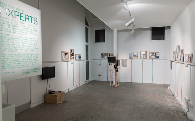Fixperts Installation in the Stanley Picker gallery 2013