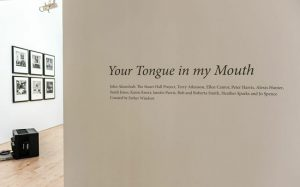 Your Tongue In My Mouth (installation view) 2014