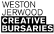 Weston Jerwood Creative Bursaries logo