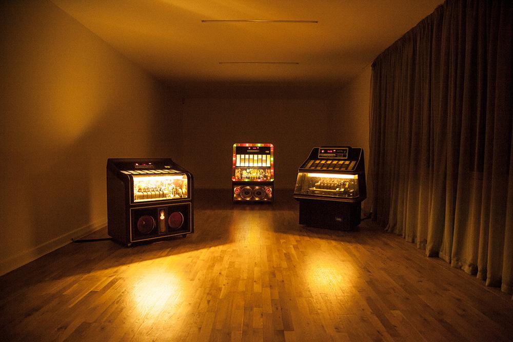 Image of Yuri Suziki's work Jukebox at the Tate Britain in 2013