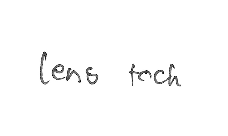 Lens touch