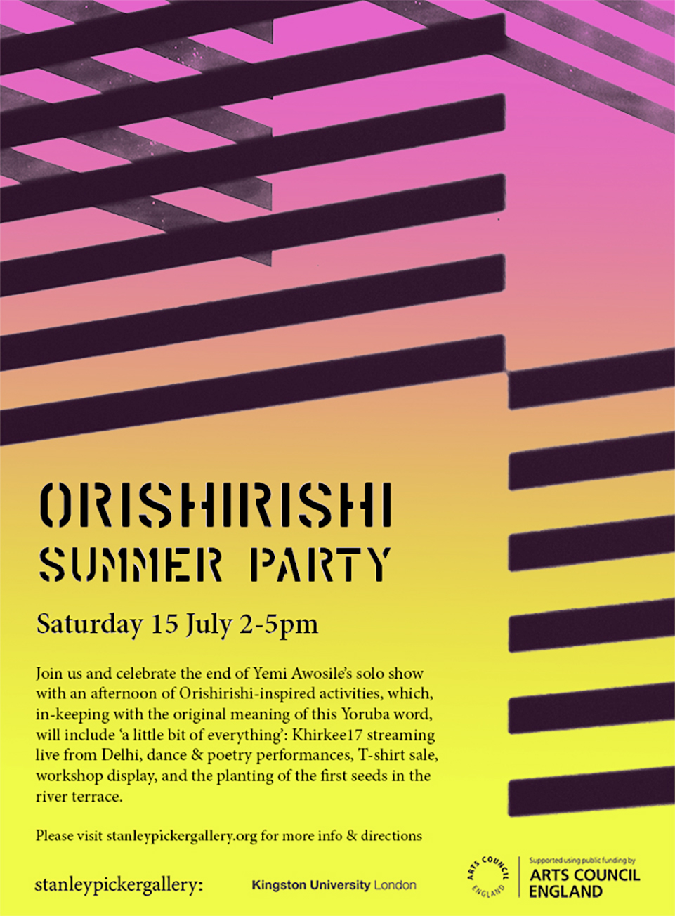 Yemi Awosile: Orishirishi Summer Party