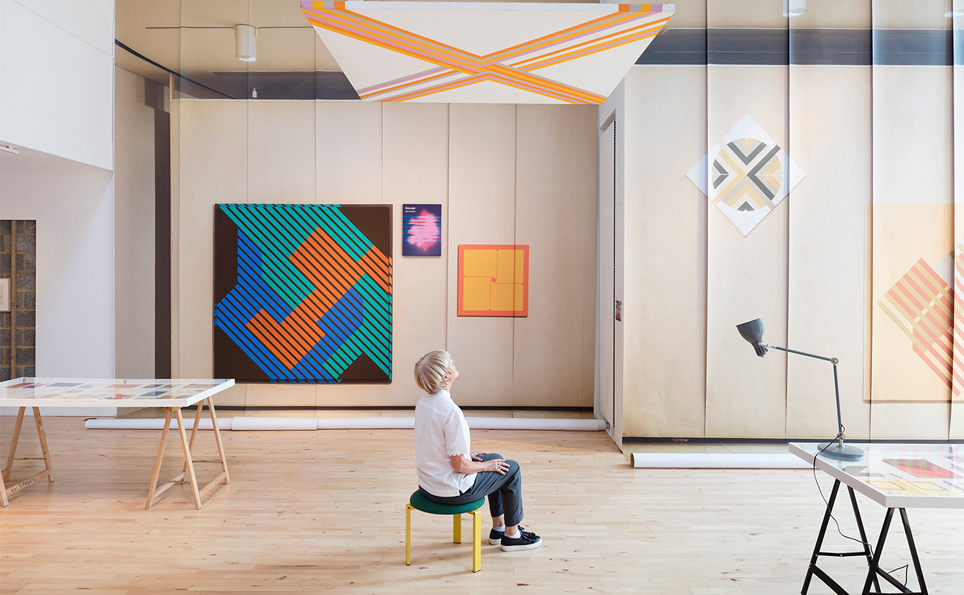 P!CKER PART I: Elaine Lustig Cohen' (2017) installation view at Stanley Picker Gallery. Photography Plastiques