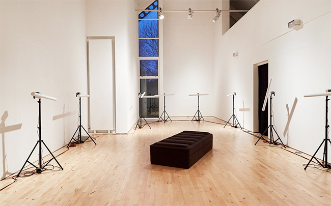 Yuri Suzuki, 'Furniture Music' (2018), installation view, Stanley Picker Gallery at Kingston University London. Courtesy of the artist. Photography Corey Bartle-Sanderson