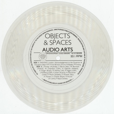 Listening to Audio Arts sound works