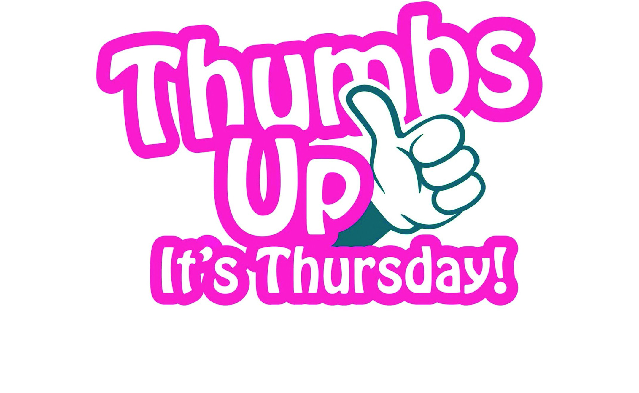Thumbs Up It's Thursday! Activities for children and families