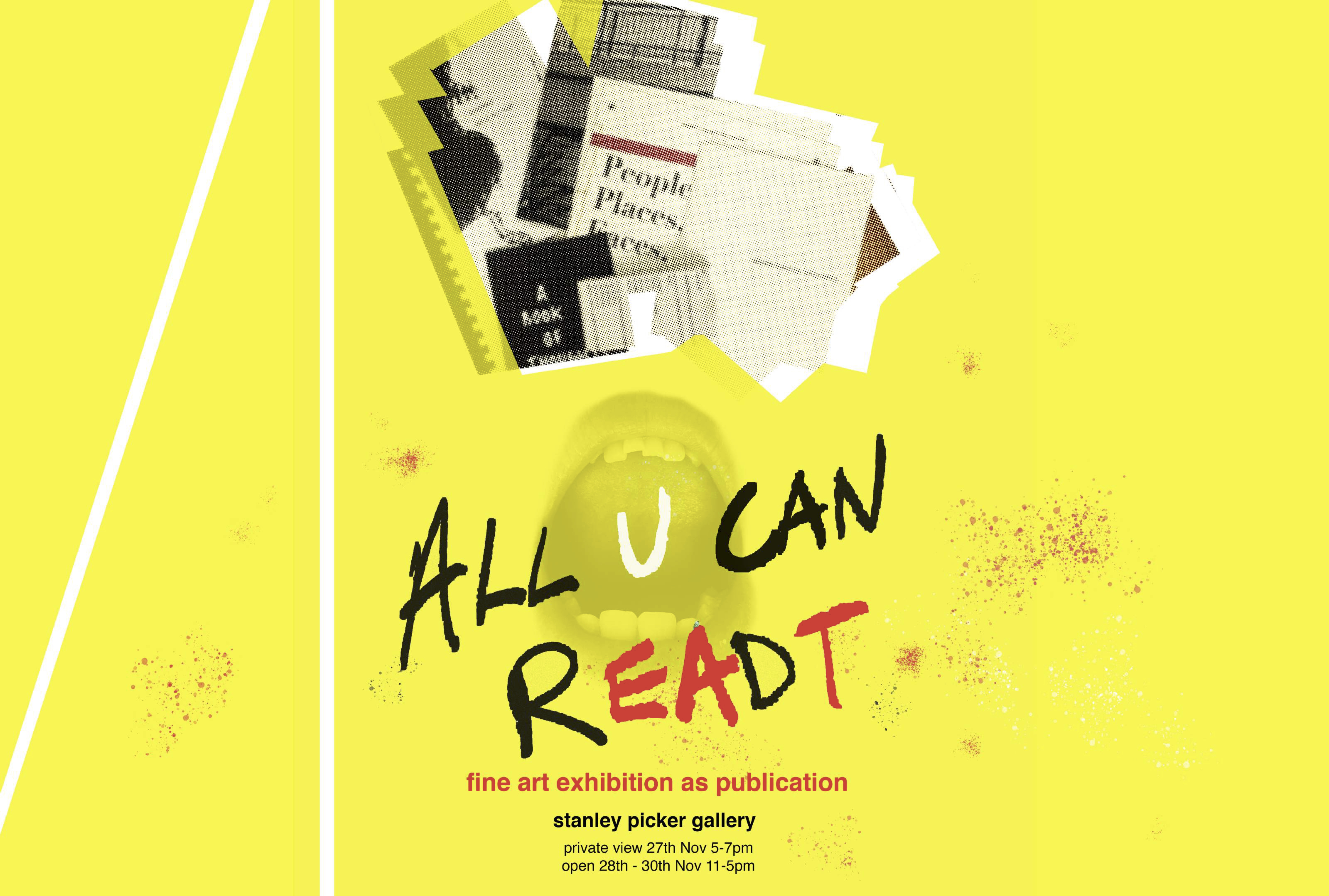 Lobby Project: Exhibition as Publication - All you can rEAdT